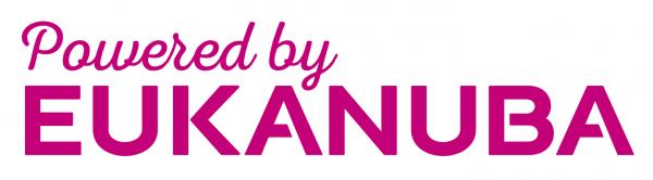 """POWERED BY EUKANUBA"" -  link til Eukanuba Danmark's hjemmeside"